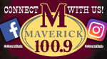 Maverick 100.9 Social Media