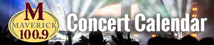 Maverick Concert Calendar